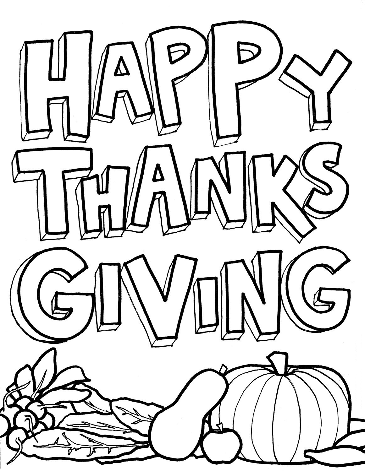 Thanksgiving Coloring Pages For Children  Thanksgiving Day Coloring Pages for childrens printable