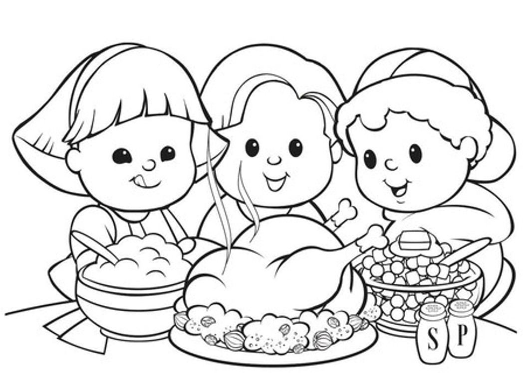Thanksgiving Coloring Pages For Children  16 Free Thanksgiving Coloring Pages for Kids& Toddlers