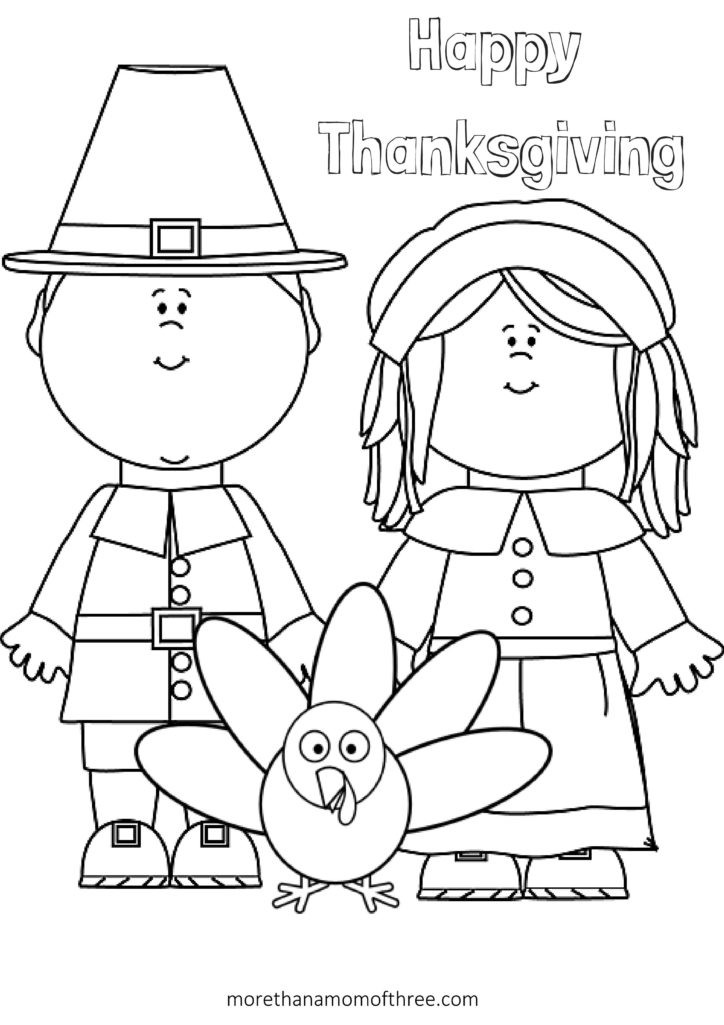 Thanksgiving Coloring Pages For Children  Free Thanksgiving Coloring Pages Printables For Kids