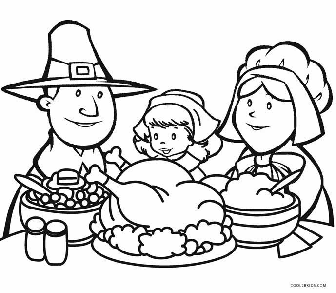 Thanksgiving Coloring Pages For Children  Printable Thanksgiving Coloring Pages For Kids