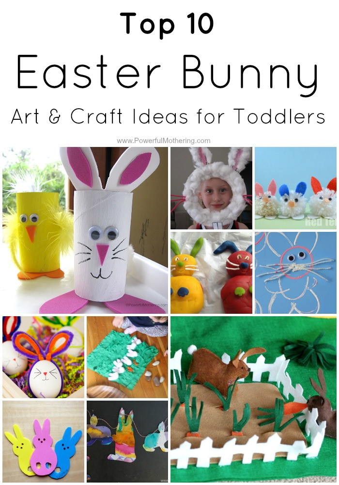 Toddler Arts And Crafts Ideas  Top 10 Easter Bunny Art & Craft Ideas for Toddlers