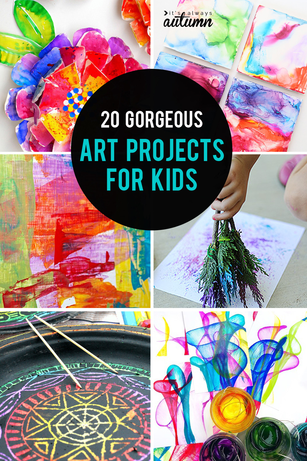Toddler Arts And Crafts Ideas  20 easy art projects for kids that turn out AMAZING It