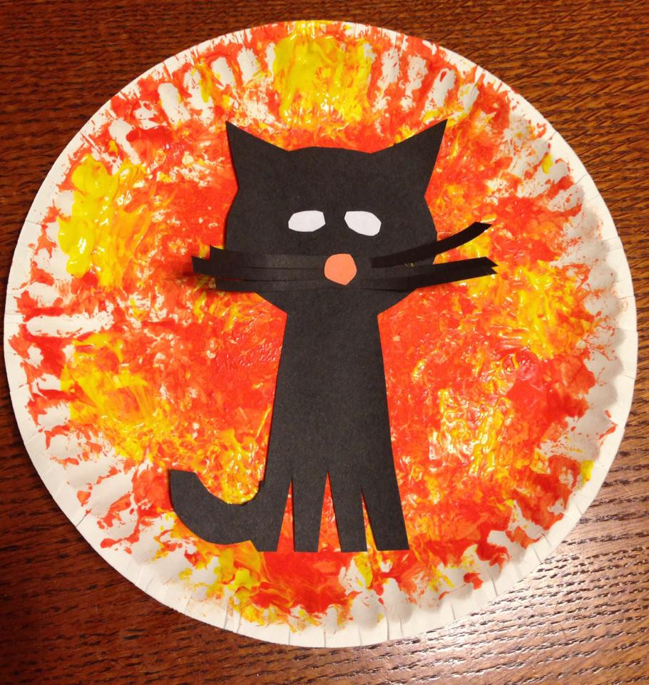 Toddler Arts And Crafts Ideas  Toddler Cat Halloween Craft – Simple activities with your