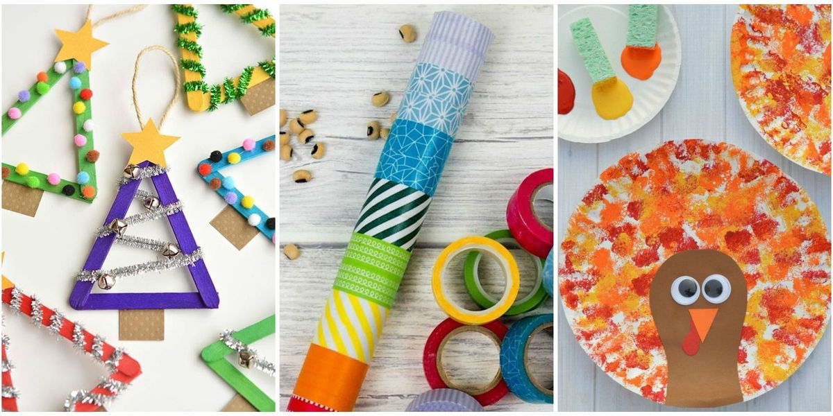 Toddler Arts And Crafts Ideas  10 Easy Crafts For Toddlers Arts and Crafts Ideas for