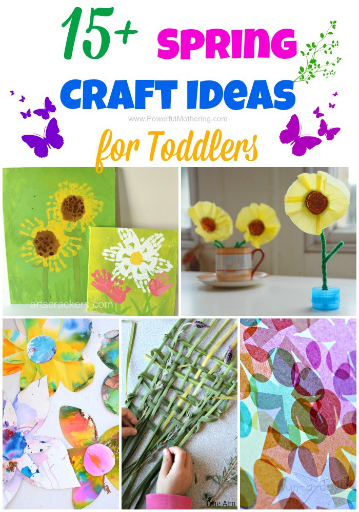 Toddler Arts And Crafts Ideas  15 Spring Craft Ideas for Toddlers