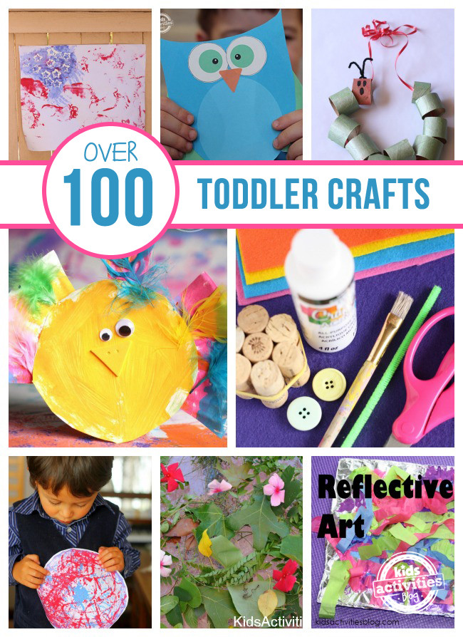 Toddler Arts And Crafts Ideas  Over 100 Toddler Crafts