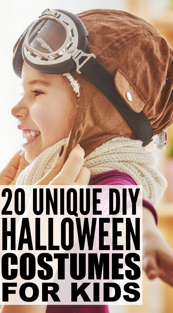 Toddler Halloween Costumes DIY  20 Cheap & Easy DIY Halloween Costumes For Kids