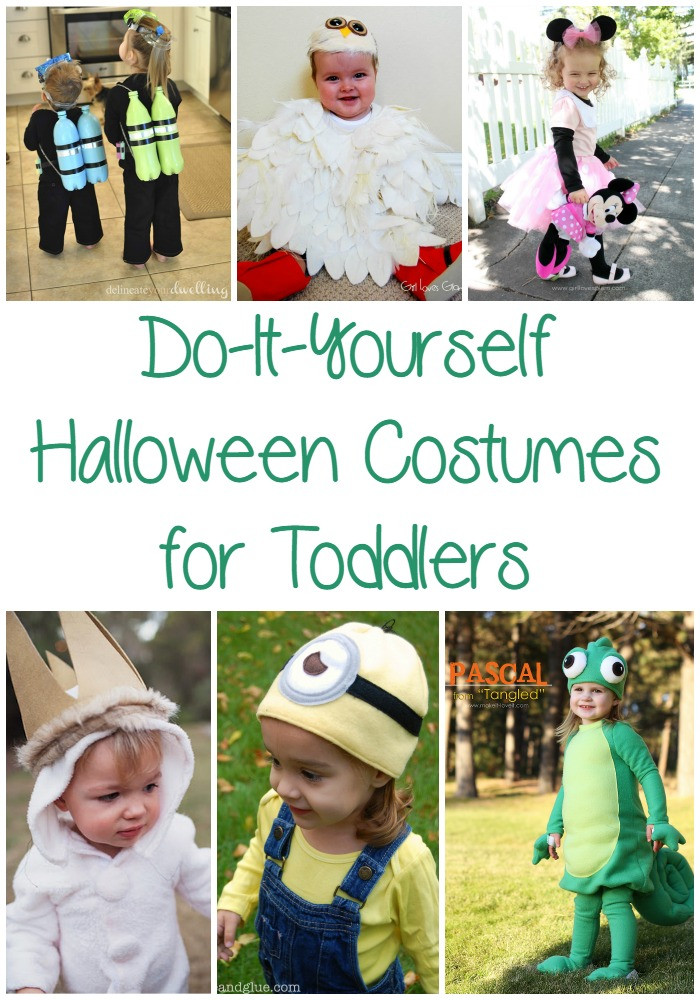 Toddler Halloween Costumes DIY  25 Easy DIY Halloween Costumes for Toddlers Optimistic Mommy