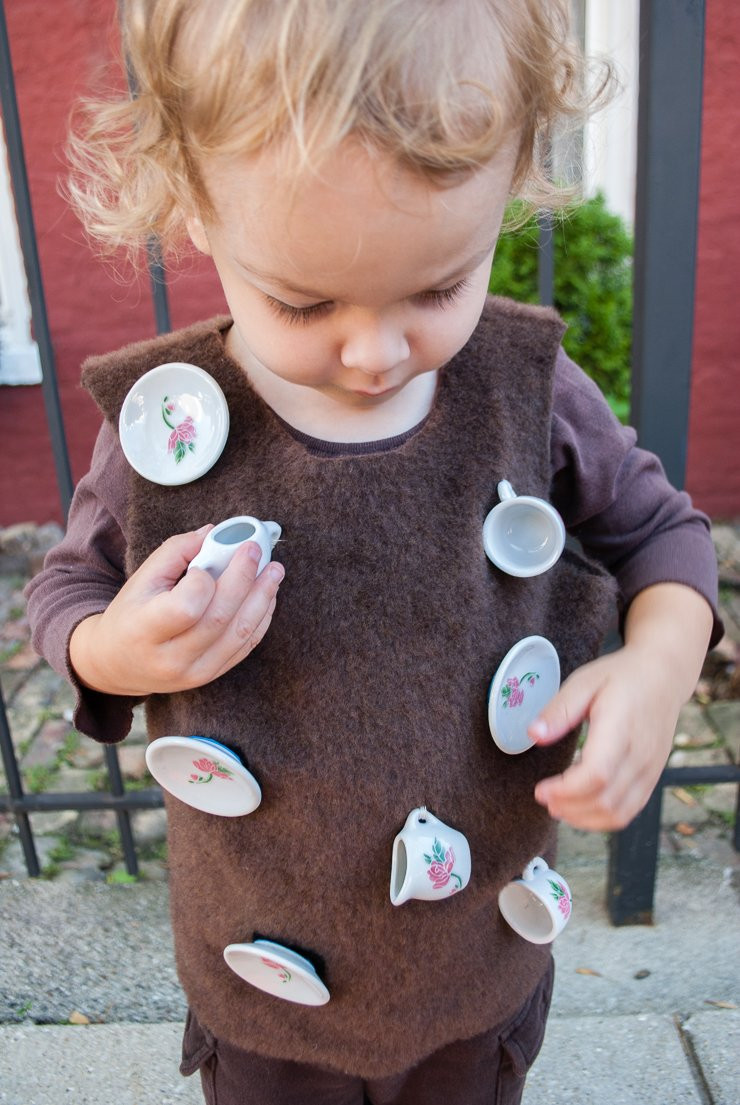 Toddler Halloween Costumes DIY  Bull In A China Shop DIY Halloween Costume for Toddlers