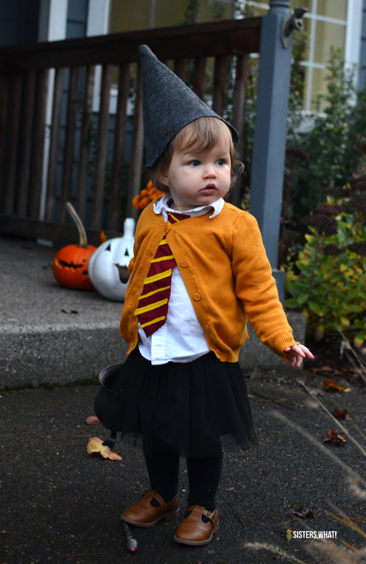 Toddler Halloween Costumes DIY  Picture DIY Hermione toddler costume