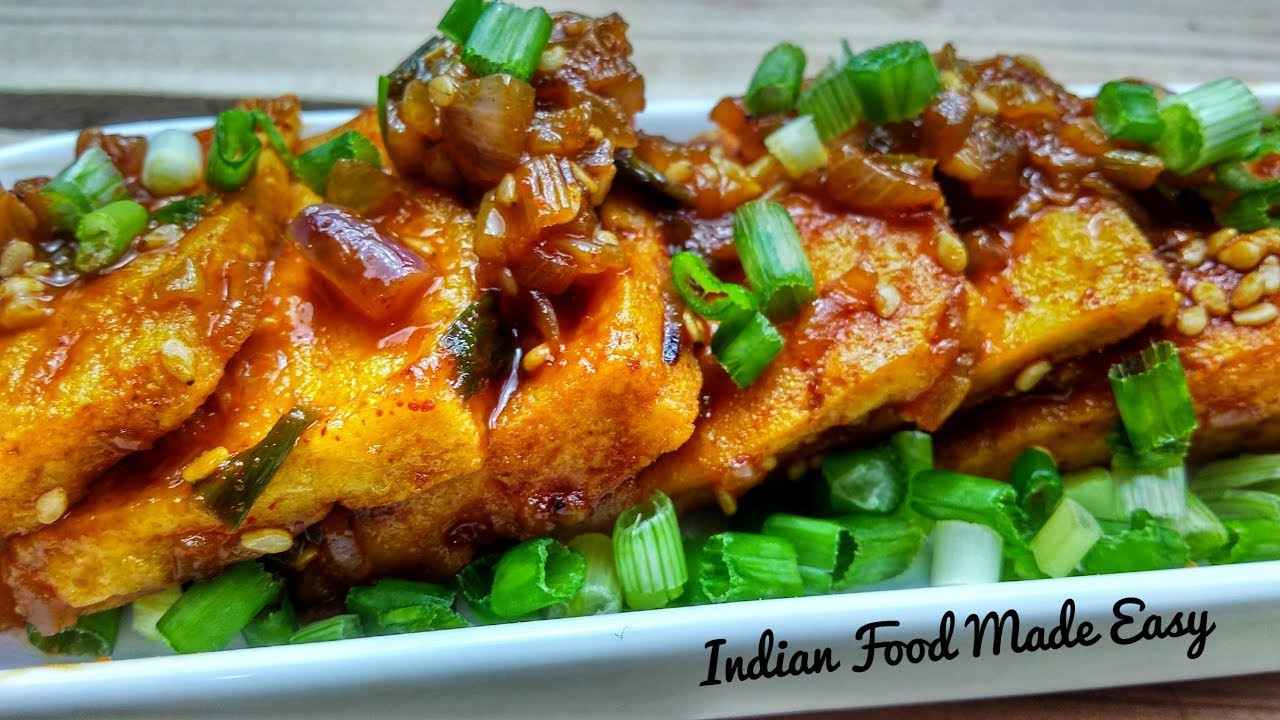 Tofu Indian Recipes Vahrehvah  Spicy Tofu Recipe By Indian Food Made Easy