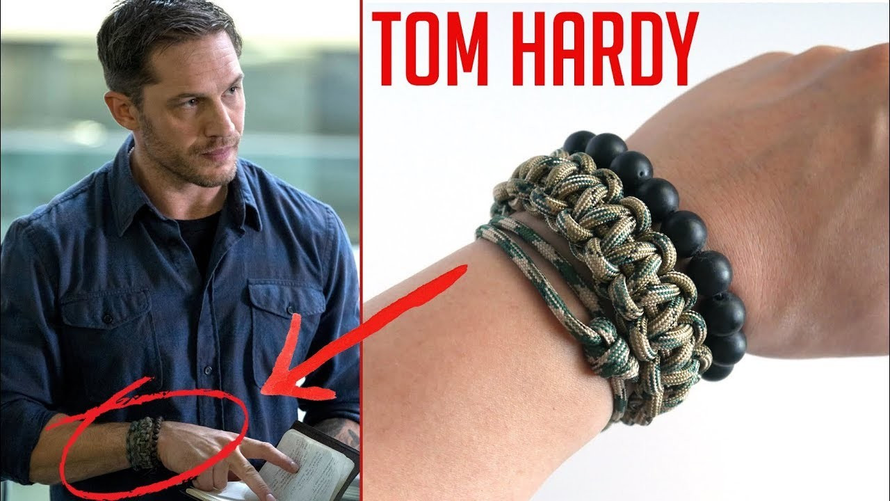 Tom Hardy Bracelet  Recreating Tom Hardys Paracord Bracelets From Venom