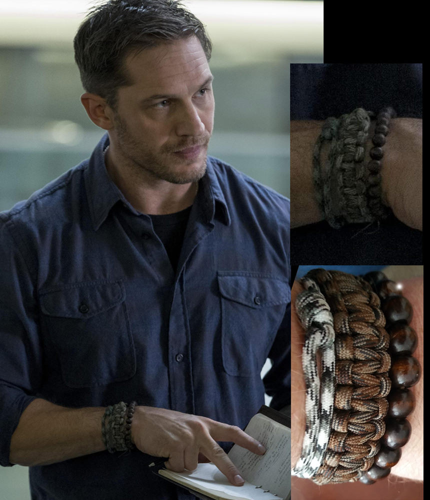 Tom Hardy Bracelet  For anyone interested in the bracelets Tom Hardy is