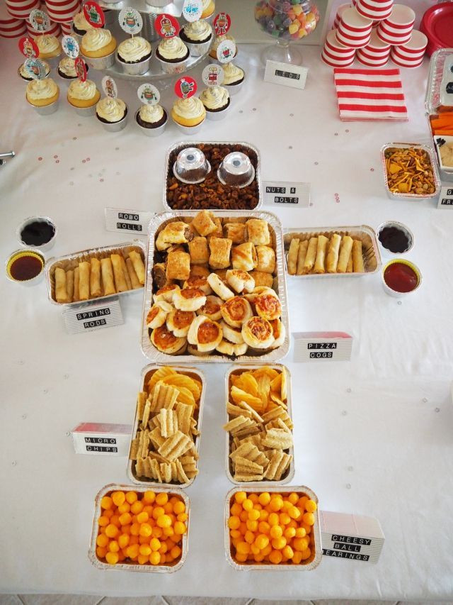 Transformer Birthday Party Food Ideas  Robot Party