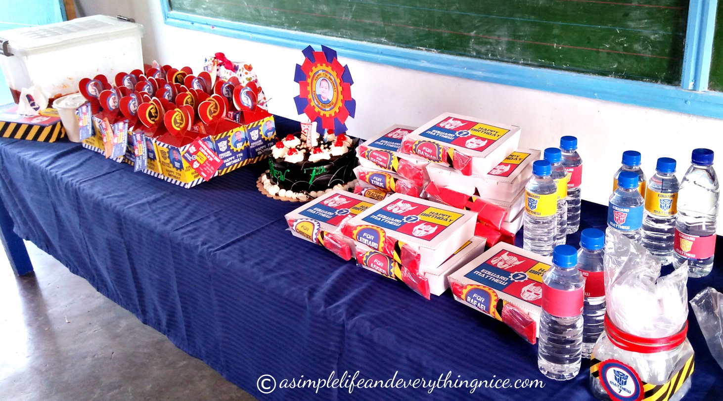 Transformer Birthday Party Food Ideas  Transformers Inspired Birthday Party Ideas and Free