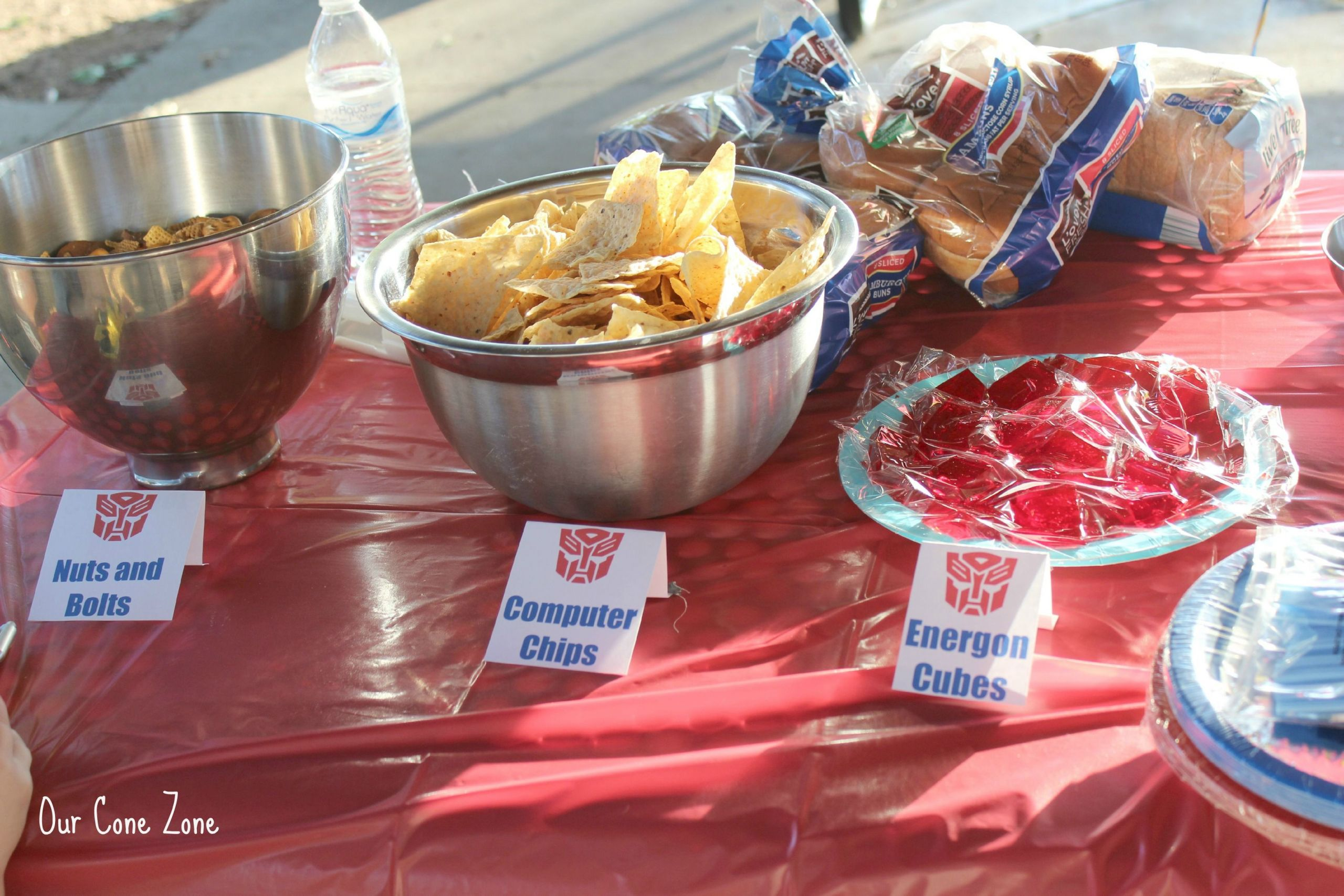 Transformer Birthday Party Food Ideas  Transformers Party food …