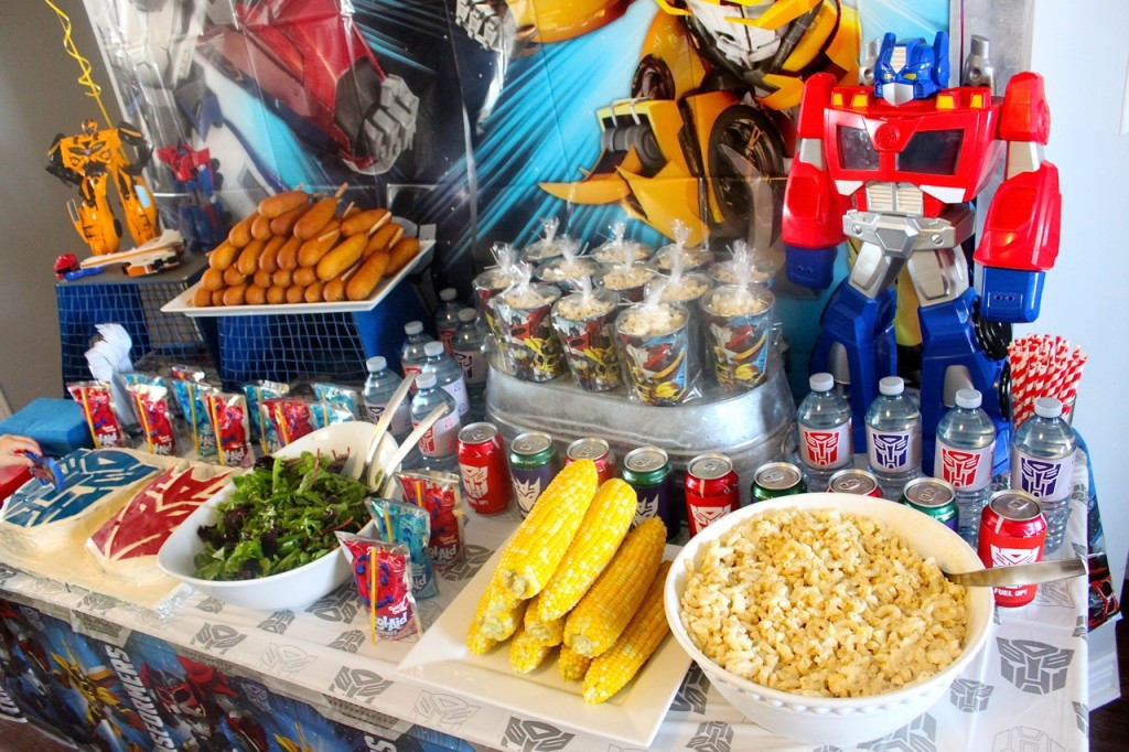 Transformer Birthday Party Food Ideas  Transformers Birthday Party Amidst the Chaos