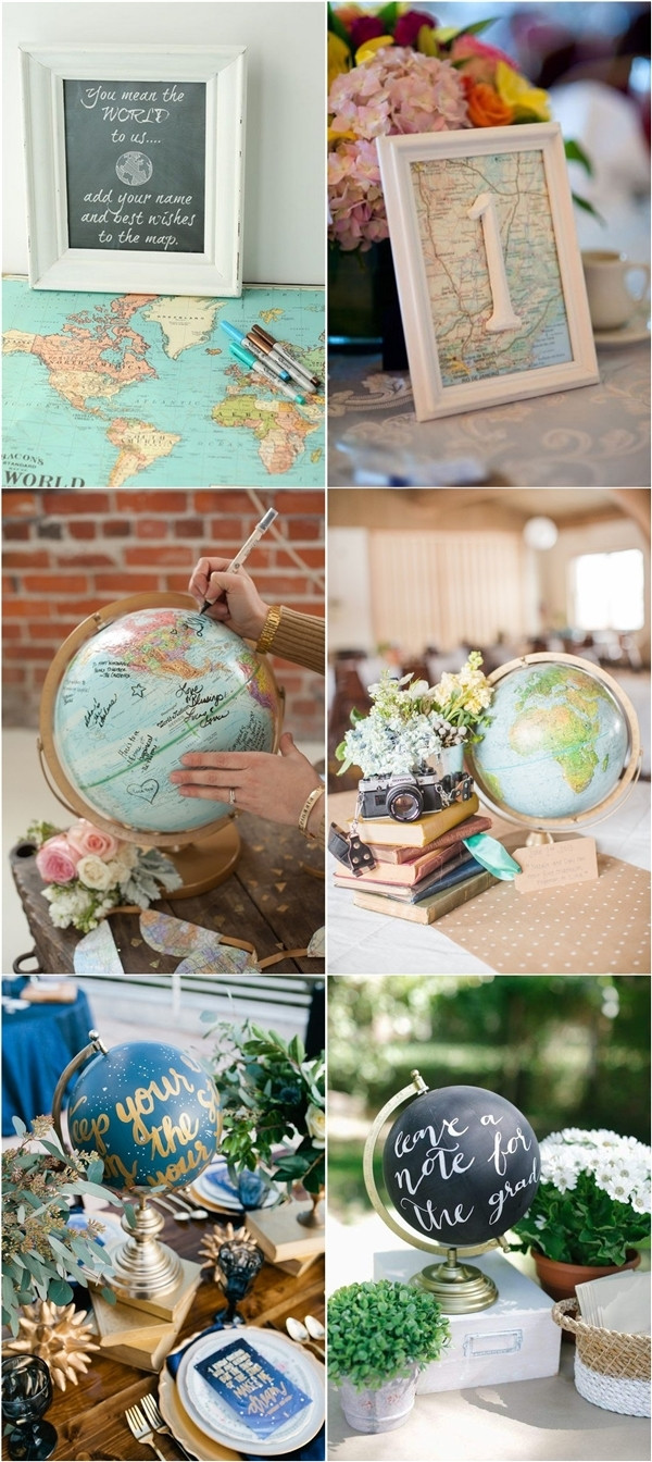 Travel Theme Wedding  30 Travel Themed Wedding Ideas You ll Want To Steal