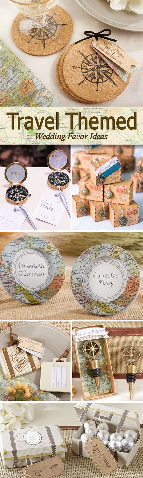 Travel Theme Wedding  The Travel Themed Wedding
