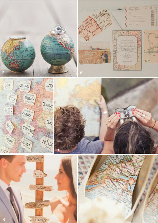 Travel Theme Wedding  Travel Themed Weddings PinayTraveller