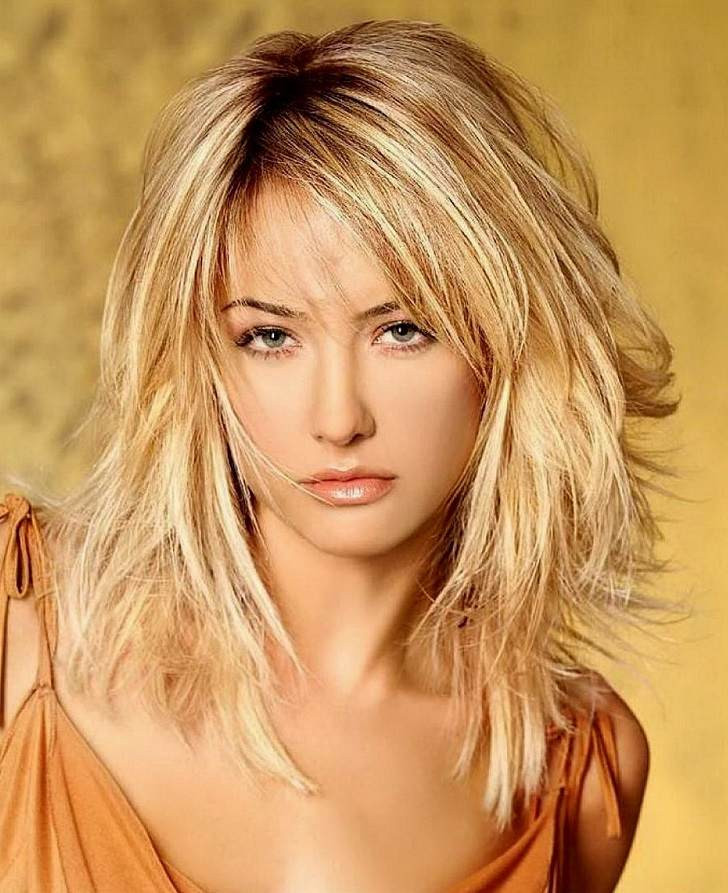 Trendy Medium Length Hairstyles  Trendy shoulder length hairstyles – cool ideas for