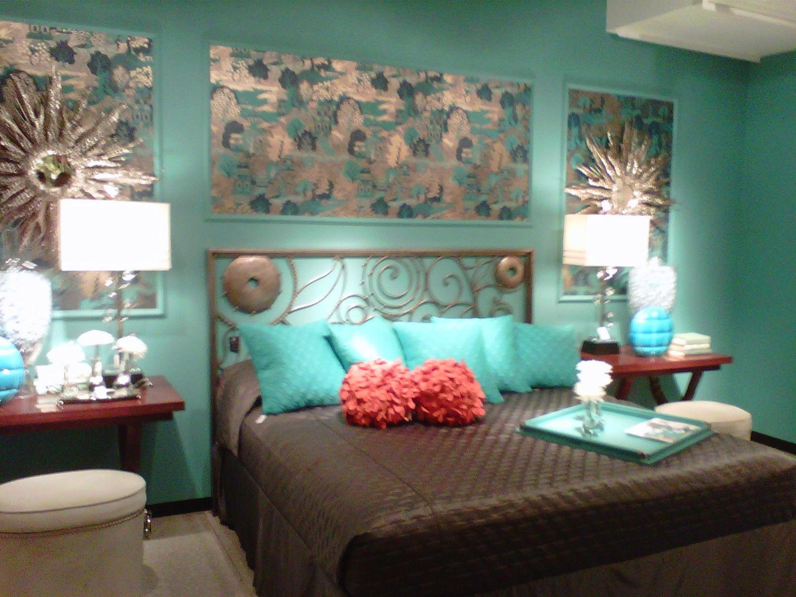 Turquoise Bedroom Decoration  23 Turquoise Room Ideas for Newer Look of Your House