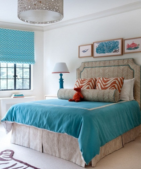 Turquoise Bedroom Decoration  Blue And Turquoise Accents In Bedroom Designs – 39 Stylish
