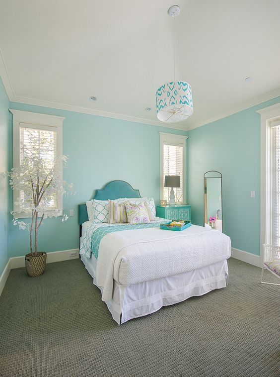 Turquoise Bedroom Decoration  21 Breathtaking Turquoise Bedroom Ideas – The WoW Style