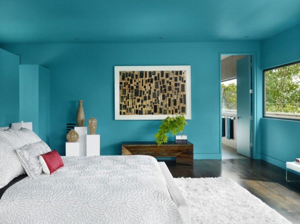 Turquoise Bedroom Decoration  51 Stunning Turquoise Room Ideas to Freshen Up Your Home