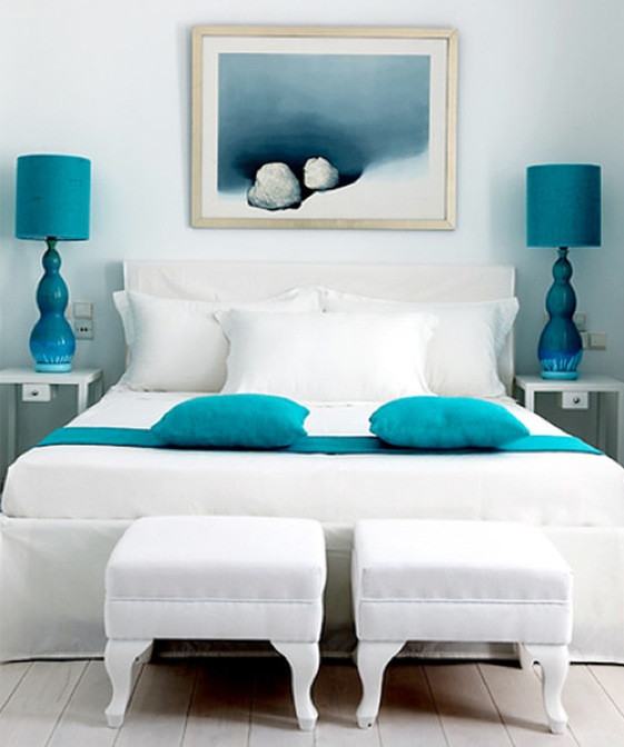 Turquoise Bedroom Decoration  Turquoise And Maroon Interior