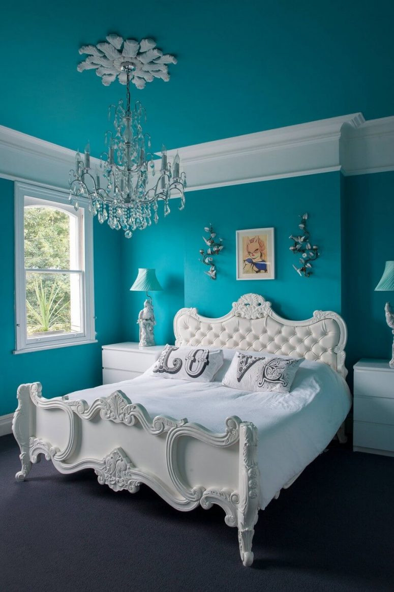 Turquoise Bedroom Decoration  Turquoise Room Ideas and Inspiration to Brighten Up Your