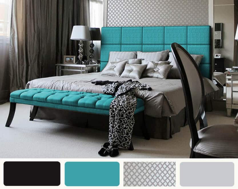 Turquoise Bedroom Decoration  Turquoise Bedroom Trends 2017 for more freshness