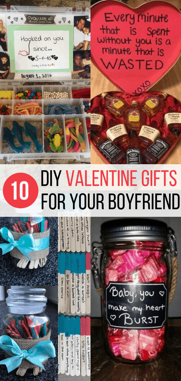 Valentine Boyfriend Gift Ideas  10 DIY Valentine s Gift for Boyfriend Ideas Inspired Her Way