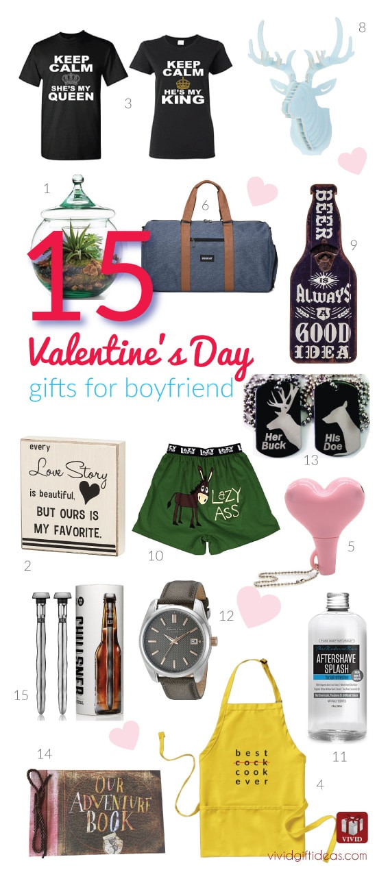 Valentine Boyfriend Gift Ideas  15 Valentine s Day Gift Ideas for Your Boyfriend Vivid s