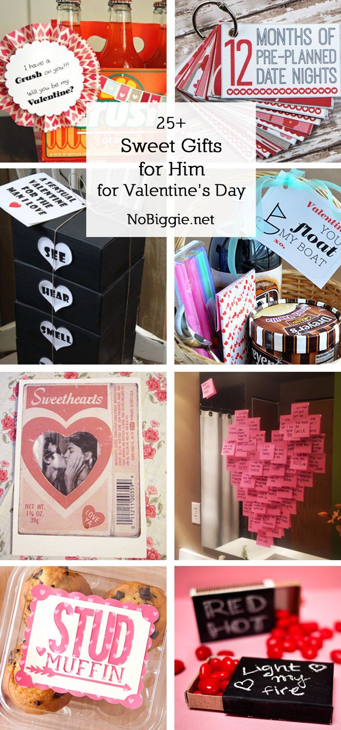 Valentines Day Gift Ideas For Boyfriends  25 Sweet Gifts for Him for Valentine s Day