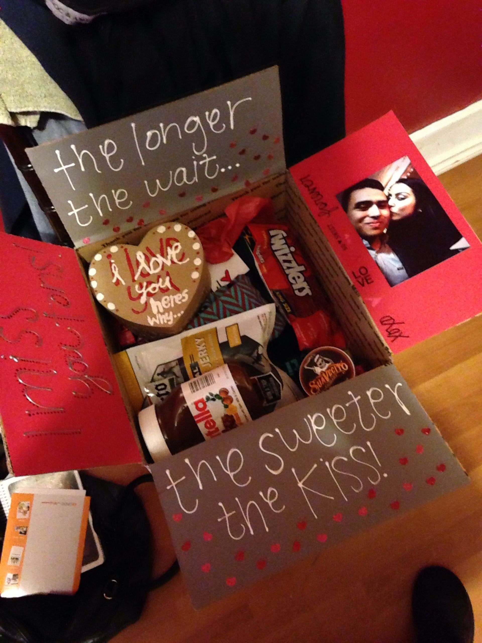 Valentines Day Gift Ideas For Boyfriends  Military valentines day package