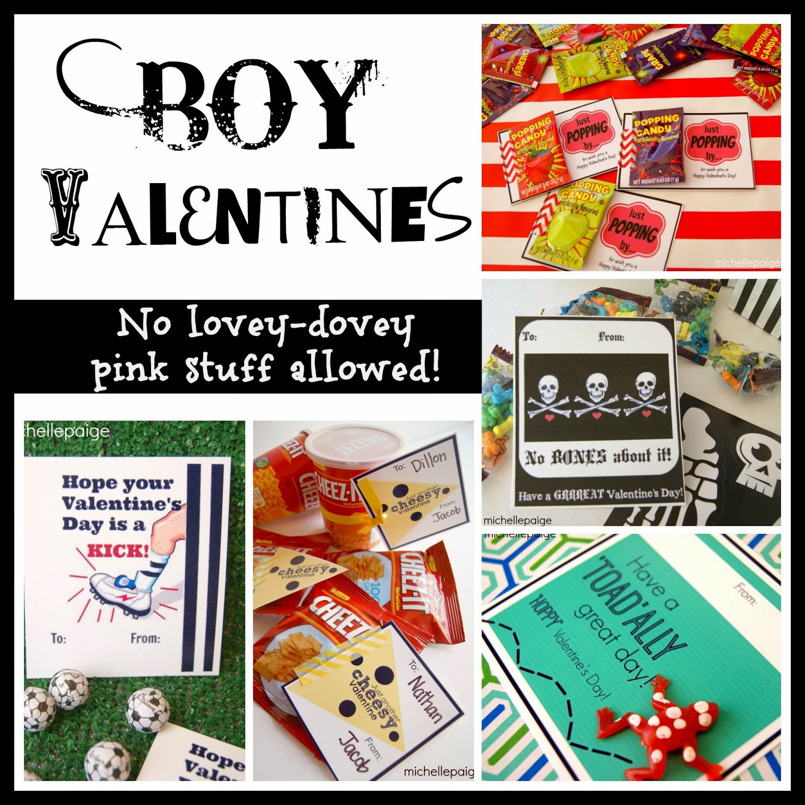 Valentines Gift Ideas For Boys  michelle paige blogs Reese s Peanut Butter Cups