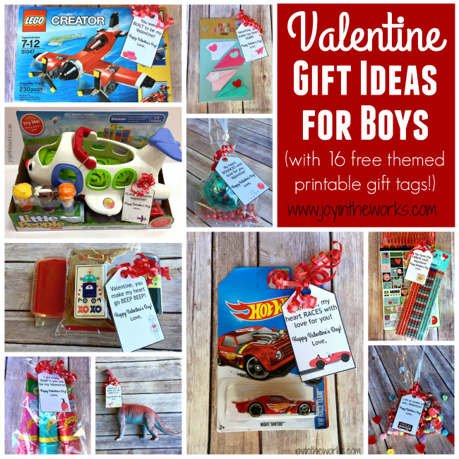 Valentines Gift Ideas For Boys  Simple Valentine Gift Ideas for Boys Joy in the Works