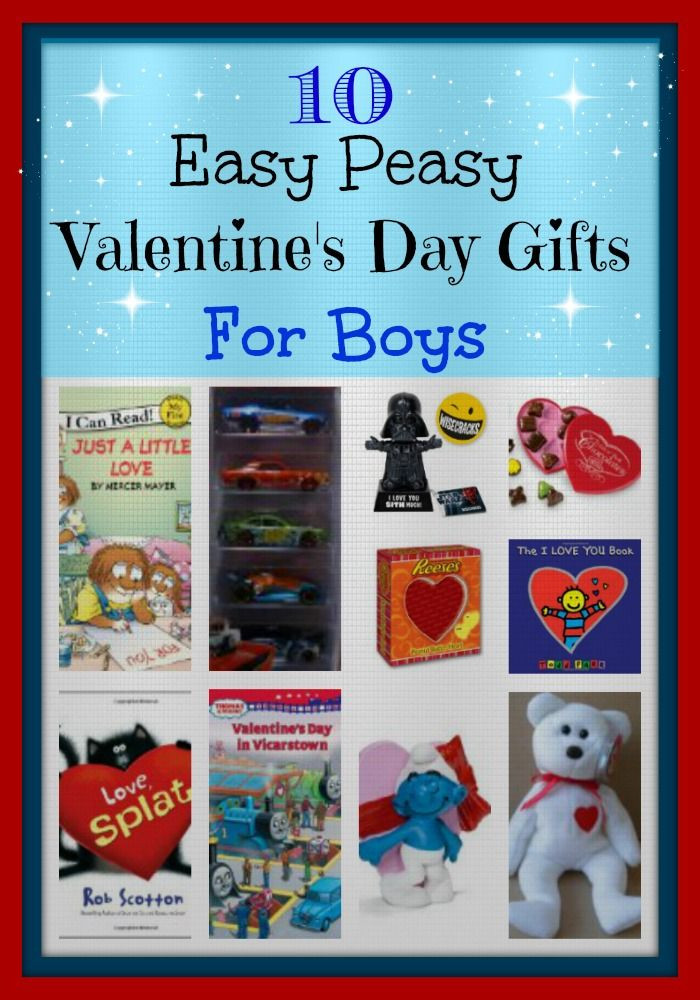Valentines Gift Ideas For Boys  10 Easy Peasy Valentine s Day Gifts For Boys