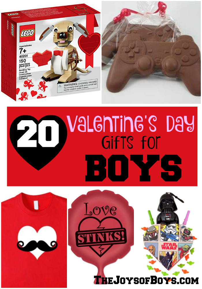 Valentines Gift Ideas For Boys  20 Valentine s Day Gifts for Boys The Joys of Boys