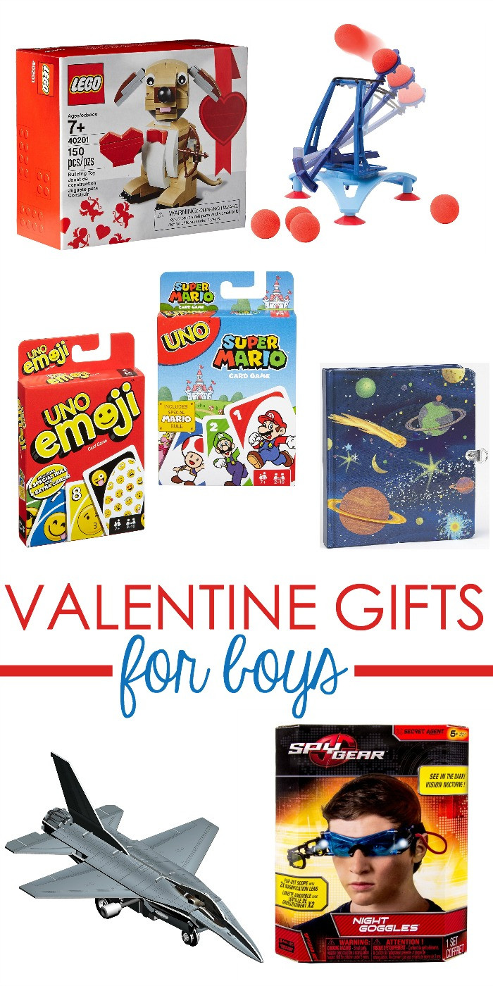 Valentines Gift Ideas For Boys  Super Fun Valentine Gift Ideas Boys Will Love Too
