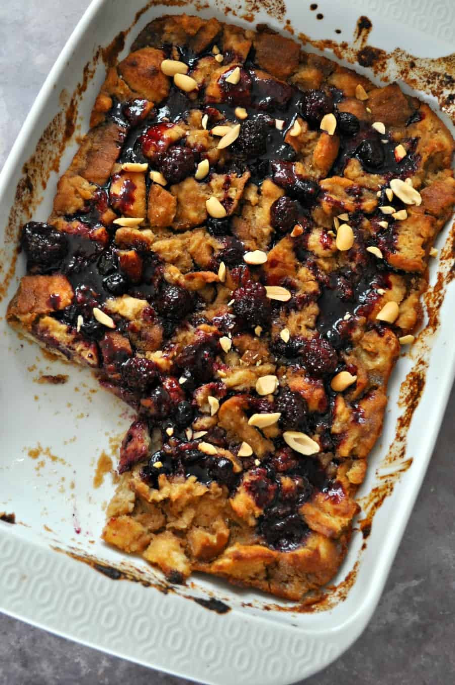 Vegan Bread Pudding  Vegan Peanut Butter and Jelly Bread Pudding Rabbit and