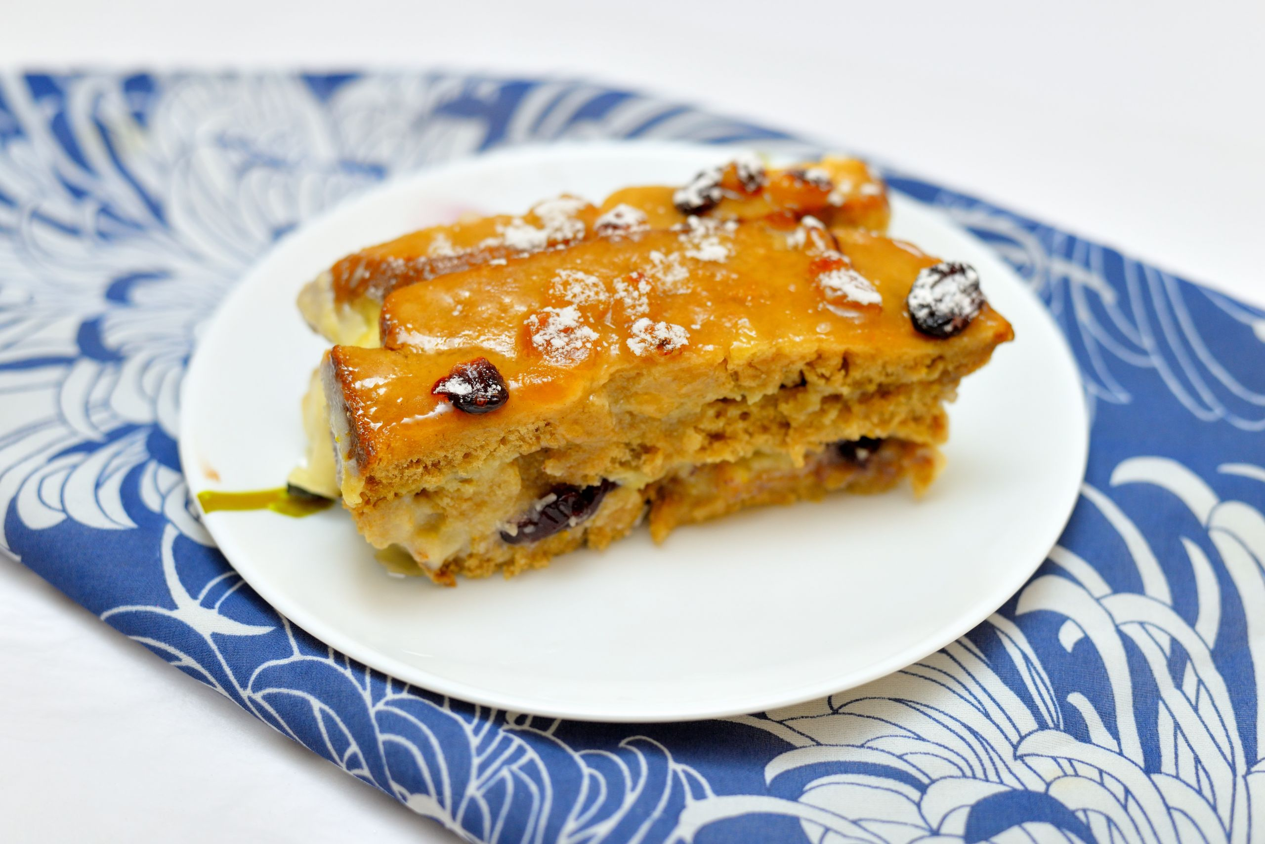 Vegan Bread Pudding  How to Make a Vegan Bread and Butter Pudding with