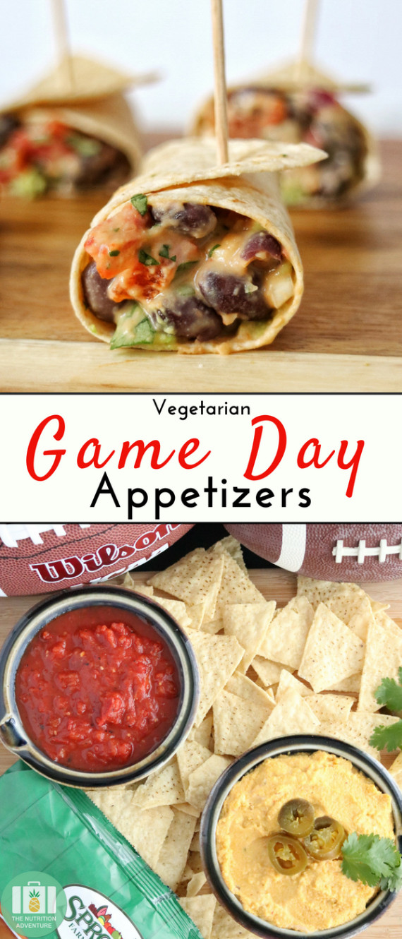 Vegetarian Game Day Recipes  Ve arian Game Day Appetizers