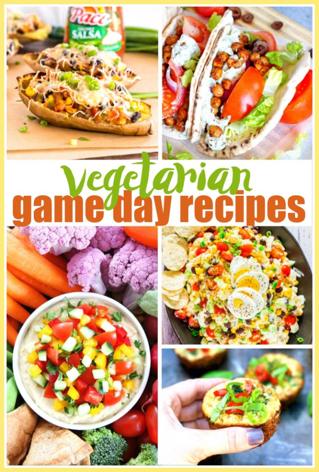Vegetarian Game Day Recipes  20 Ve arian Game Day Recipes to Enjoy for the Big Game