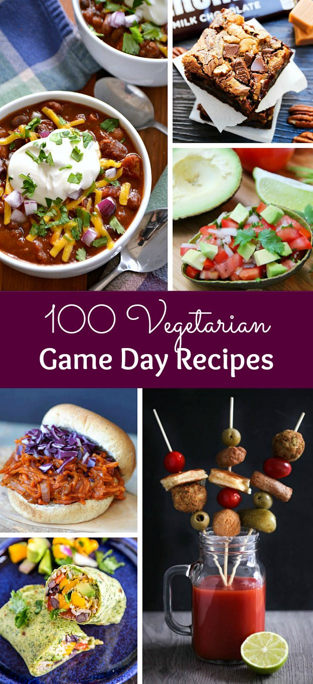 Vegetarian Game Day Recipes  100 Ve arian Game Day Recipes