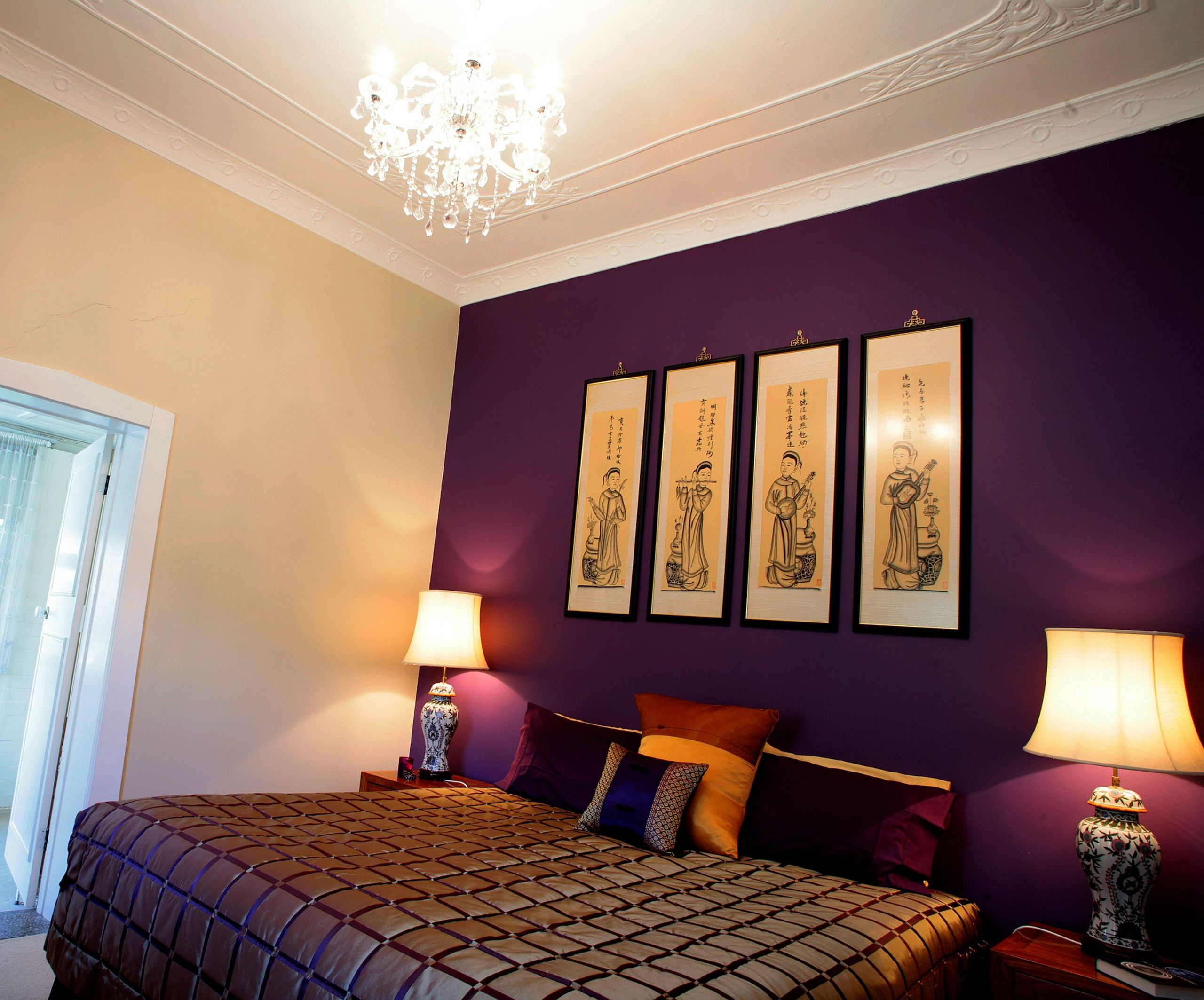 Wall Paint Ideas For Bedroom  How to Choose Wall Paint Colors for Home Design MidCityEast