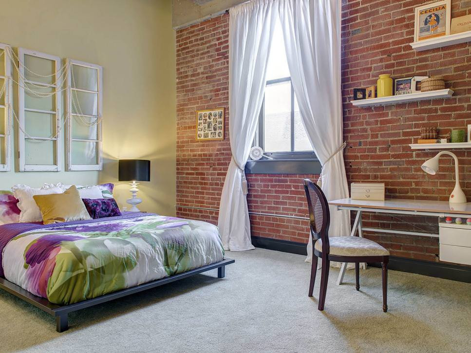 Wall Pictures For Bedroom  23 Brick Wall Designs Decor Ideas for Bedroom