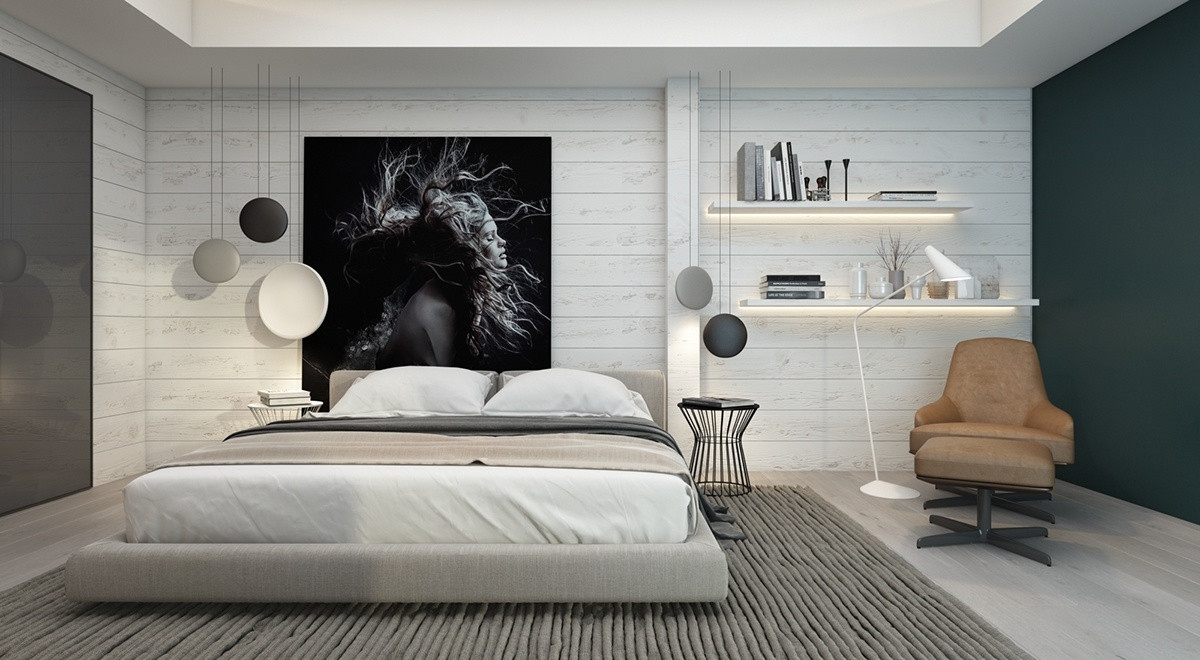Wall Pictures For Bedroom  7 Bedrooms With Brilliant Accent Walls