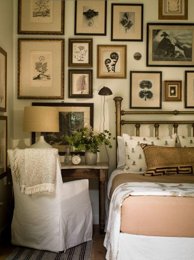 Wall Pictures For Bedroom  30 Awe Inspiring Bedroom Design Ideas with Gallery Wall